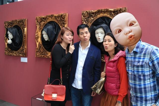 另一對從香港來的搞鬼夫婦朋友,日理萬機的大頭佛,百忙中抽空出席,感激不盡。