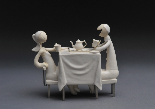 Table for 2 (Teapot) / 2011 /Porcelain