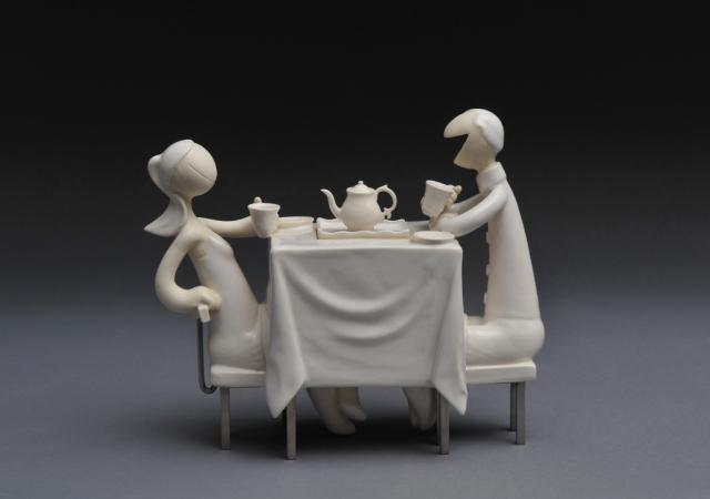 Table for 2 (Teapot) / 2011 /Porcelain